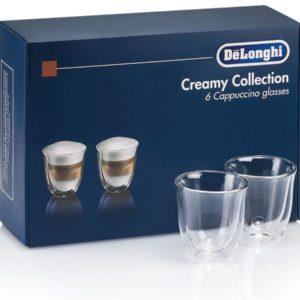 DeLonghi Creamy Collection 6 Glasses (DLSC301)